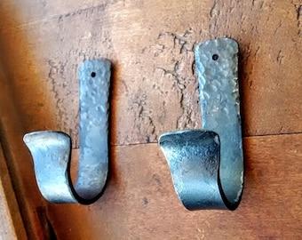 Custom Pair of Oar Hooks // Nautical Decor // Boat Hooks // Boat Paddle Hooks // Hooks for Hanging Oars // Oar Wall Mount // Beach Decor
