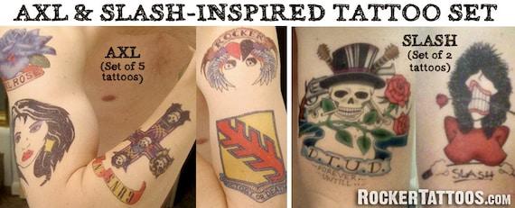 Axl Rose Tattoo Kit