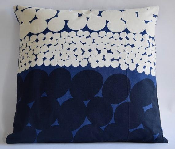 20x20 Marimekko Pillow Cover. Handmade
