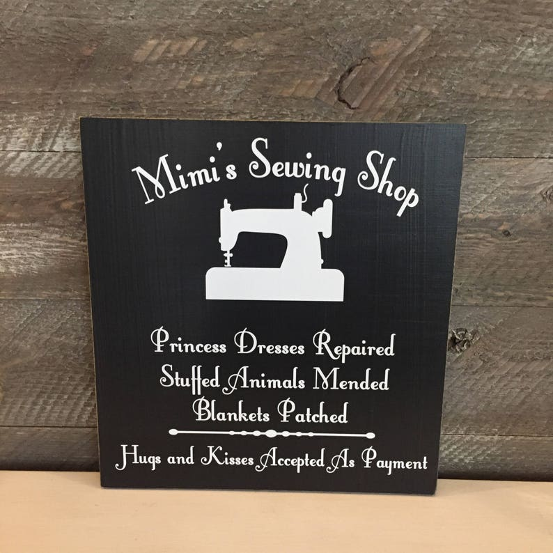 00853623be6 Christmas Gift For Grandma ~ Mimi Gift ~ Sewing Room Sign ~ Gifts For  Grandma ~ Mimi's Sewing Shop Custom Wood Sign ~ Gifts For Mimi