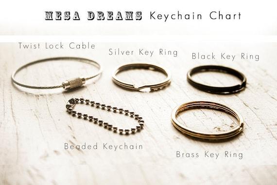 Daisy keychain Custom initial leather key fob Autumn daisies and grass hand painted keychain or bag tag Mesa Dreams