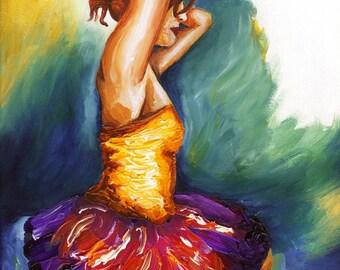 Ballerina - Ballet Dancer art print