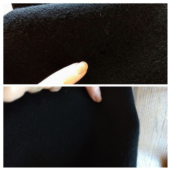 vintage 1980s Pauline Trigere black dress - image 10