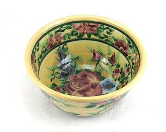 Kiln House Pottery One Of A Kind Floral Ceramics By