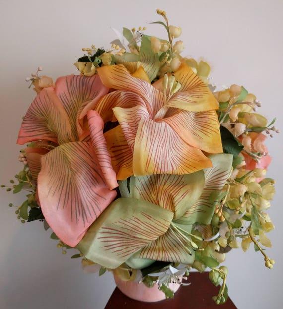 Vintage Christian Dior floral hat - stunning - image 6