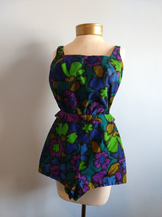 1950's romper / playsuit / sunbathing outfit - sma