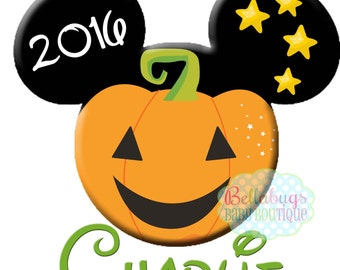 mickey pumpkin printable digital iron on transfer design personalized diy do it yourself vacation disney