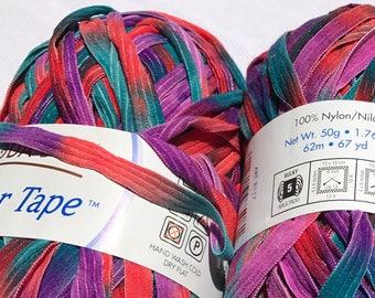 Ribbon Variegated Yarn -- Ticker Tape by Moda Dea -- Festival