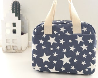 Stars Lunch bag Mothers day gift Gifts for mom Gift for her Gifts for women Mom gift Lunch box Eco friendly Insulated lunch bag for women