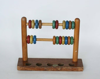 vintage wooden toy by jaymar