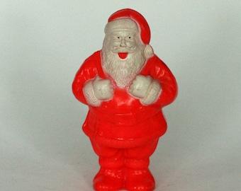 vintage irwin santa candy holder