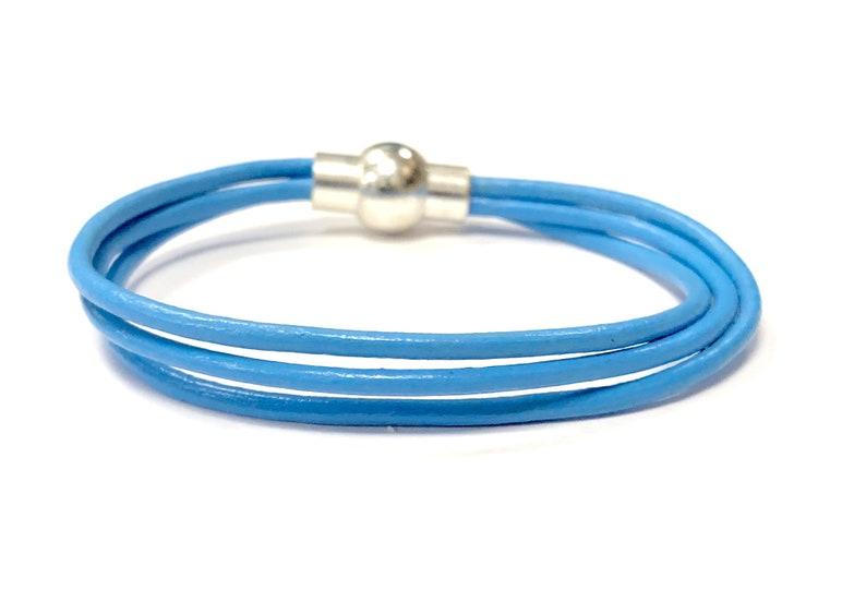 Leather Wrap Bracelets For Women Earthy Wrap Bracelets image 0