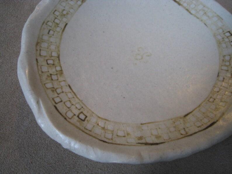 Yaya Mama Stele Details Artifact Inspired Ceramic Bowl Art Bowl Archaeology