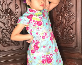 Retro Chinese Dress for girl