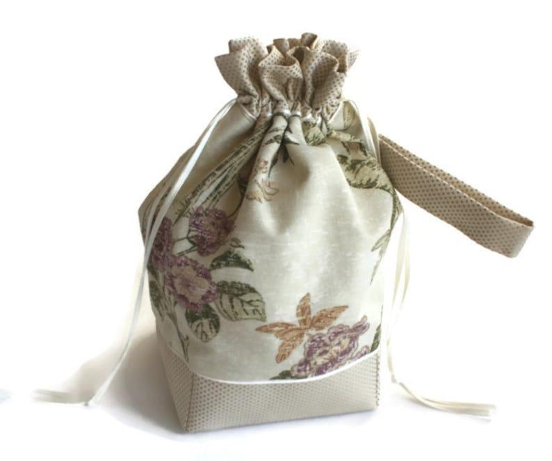 Bolsa bolso de lazo proyecto Tejer-Bolsa De Crochet Regalos para Knitters