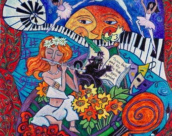 Magic Flute Giclee limited edition Signed
