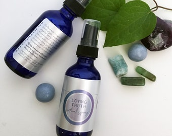 LOVING TRUTH Ritual Spray with Crystal Essences / Receive and speak your Truth