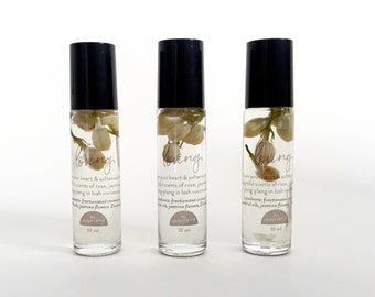 LOVING Botanical Roller Oil with Jasmine Flowers