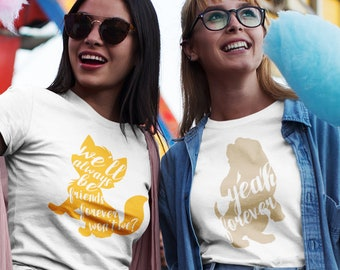 Best Friend Fox and the Hound inspired t-shirts