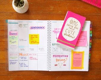 PRINTABLE 2018 Plans+Things™ Planner (January 2018-December 2018)