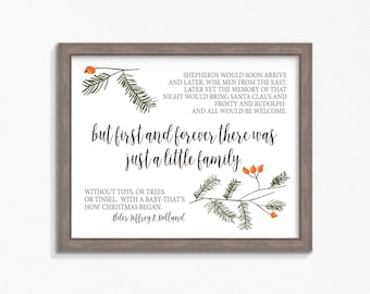 Christmas Quote Etsy