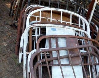 Choose From Our Vintage Full Sized Beds Many Styles   Great For Garden Gates,  Trellis, Fences (Inventory Liquidation) PICK UP ONLY