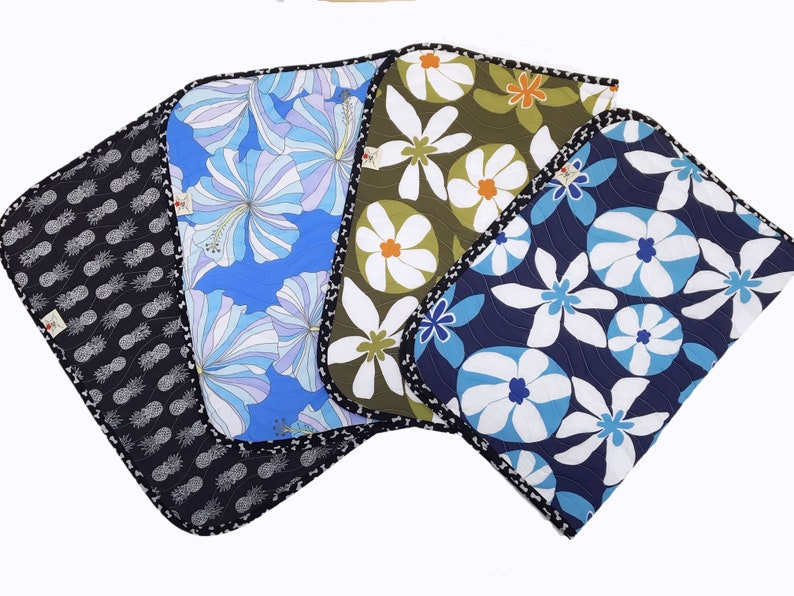 Wave Quilted Collection II by Barking Dog Blankets  Hawaiian image 0