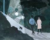 Night Walk (print)