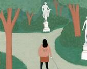 Walk in the Park (print)