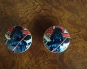 Handmade Knobs Drawer Pull Star Wars Darth Vader Dresser Knob Pulls Switch Plate Covers to Match in Shop