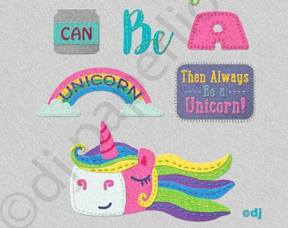 Unicorn Saying 8x10 Print **FREE SHIPPING**