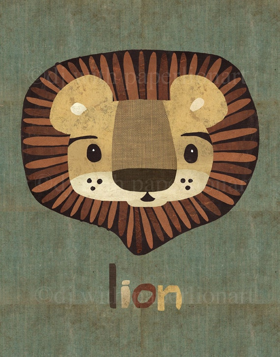 Lion...Oh My! Print 8x10 inches
