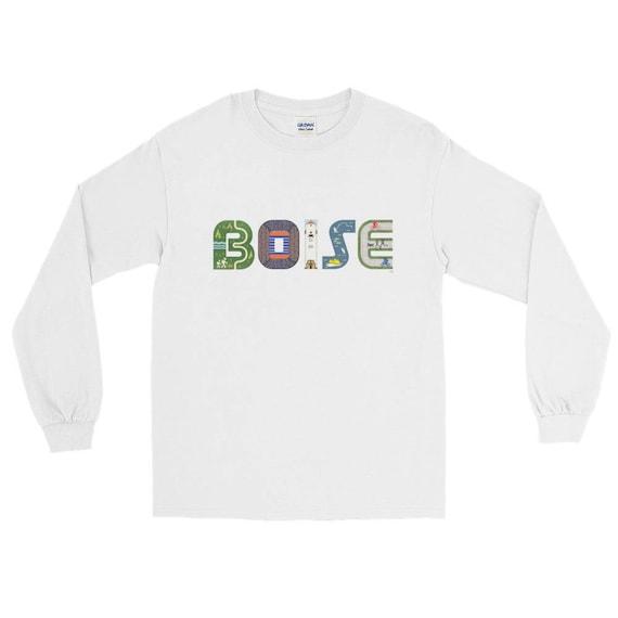 Long Sleeve T-Shirt: Boise