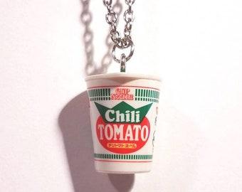 Cup noodle necklace