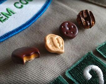 Scout Cookie Swap Pin Set Cookie Sales Award