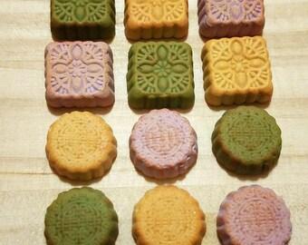 Miniature Mooncake for Dollhouse - Miniature Food