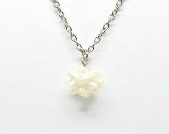 Shimmer White Konpeito necklace