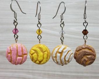 Food Earrings Concha Pan Dulce Gifts