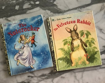 The Nutcracker & The Velveteen Rabbit A Little Golden Book