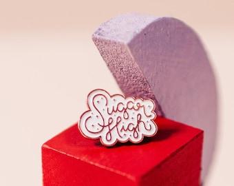 Sugar High Soft Enamel Pin