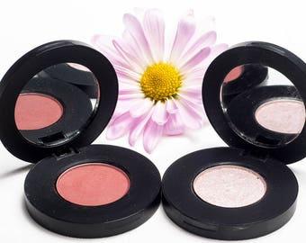 Eyeshadow Duo: Mahogany Mimosa + Aurora
