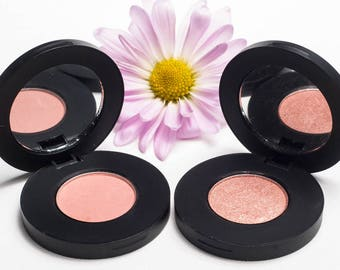Eyeshadow Duo: Rose Gold + Desert Rose