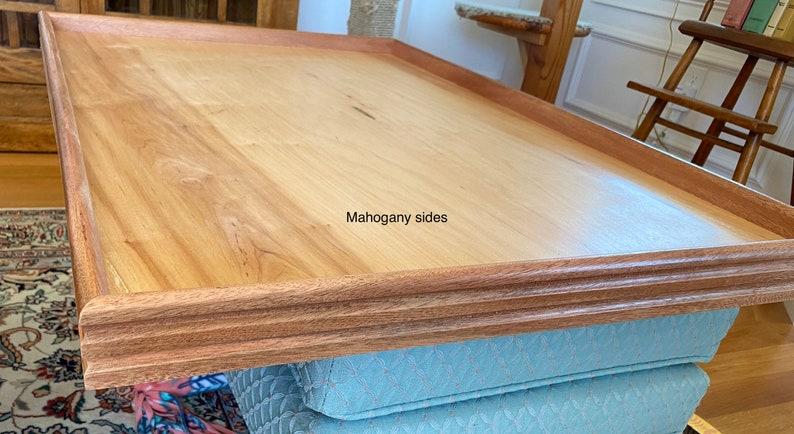 Puzzle board, large;Mahogany Sides