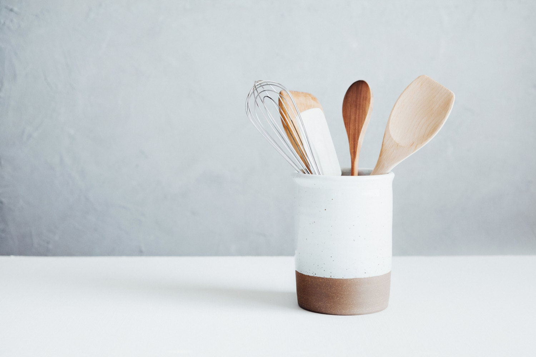 Utensil Crock Spoon Crock Wine Chiller Ceramics | Etsy