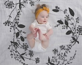 Garland - Organic Cotton Swaddle Blanket Tapestry