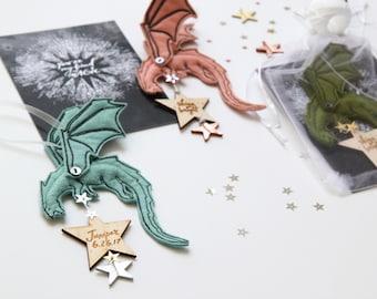 Dragon Keepsake Ornament - Personalized