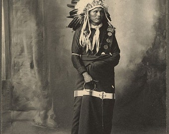 Chief Eagle Bear Sioux art image
