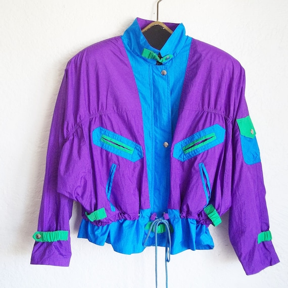 Vintage 90s Andy Johns Oversized Electric Windbrea
