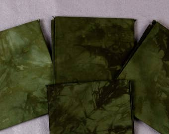 Forest Spruce Hand-Dyed Quilting Cotton Fat Quarter