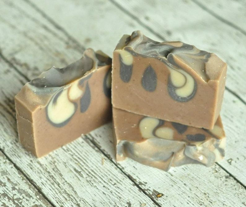 soap patchouli sandalwood shea cedarwood butter vegan